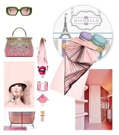"""""""pink part one, spring summer 2016"""" by roxariaone ❤ liked on Polyvore featuring Marni, Diamantini & Domeniconi, Christopher Kane, Yves Saint Laurent, Fendi, Juicy Couture and Giamba"""