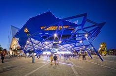 Perth Arena in Australia, by ARMArchitecture (ARMArchitecture)