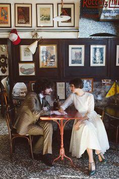 Amélie inspired wedding | photo by Valentina Riboli Photography http://weddingwonderland.it/2016/03/matrimonio-ispirato-a-il-favoloso-mondo-di-amelie.html