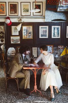 Amélie inspired wedding | photo by Valentina Riboli Photography http://weddingwonderland.it/2016/03/matrimonio-ispirato-a-il-favoloso-mondo-di-amelie.html