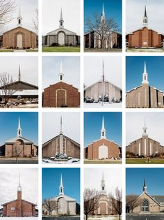 Mormon churches