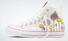 Happy Belated Birthday Dr. Suess.  Lorax Converse.