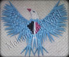 Mohammad Nofal | Album | Egyptian Eagle… | 3D Origami Art