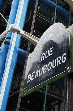 La rue Beaubourg  (Paris 3ème/4ème).