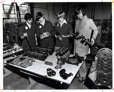 Automotive technology students learn how to build a car!  U5S6B01F25P002 by Cincinnati State Archives, via Flickr