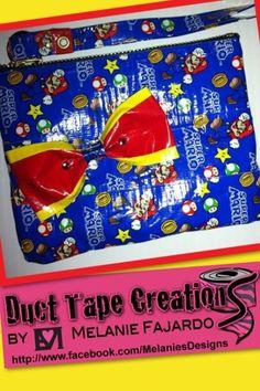 Duct tape clutch