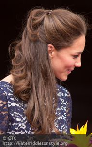 I heart Kate Middleton.  My hair will be this long by the wedding. :)