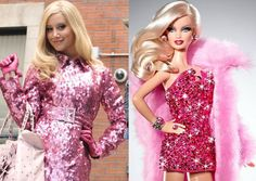 Butttttt there's more than just hair. Their whole ~sense of style~ (aka everything pink/glittery) is almost too similar.