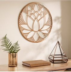Graham & Brown Lotus Blossom Wall Decor