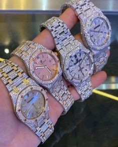 Unusual Jewelry, Expensive Jewelry, Cute Jewelry, Jewelry Accessories, Stylish Watches, Luxury Watches, Watches For Men, Diamond Grillz, Unicorn Fashion