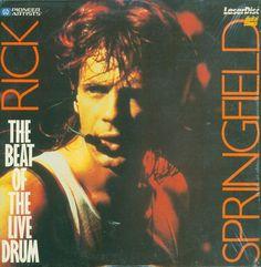 Rick Springfield The Beat Of The Live Drum Laserdisc Music