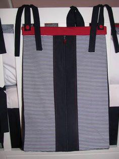 Porta roupa suja - Coleção Marinheiro