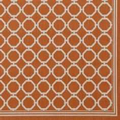 Bermuda Indoor/Outdoor Rug - Rust