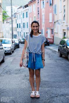 #RIOetc #jeans #listras #Melissa #PelasRuas #saia #streetstyle #tattoos