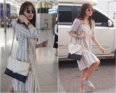 Korean Fashion Style to the Airport Inspired by Yoon Eun Hye