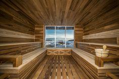 LEMAYMICHAUD | Design | Architecture | Interior Design | La Ferme | Hotel | Charlevoix | Le Massif | Hospitality | Room | Spa | Relax | Sauna | Spa du Verger |