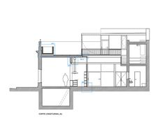 Casa Vlady: House Refurbishment,Section