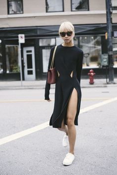 7 Incredibly Chic All-Black Looks