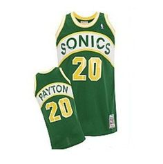 Seattle SuperSonics 1991-92 Gary Payton Soul Swingman Jersey Air Jordan b0c72ab2d