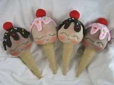 Ice Cream BeBes by BeBe Babies and Friends, via Flickr