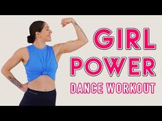 GIRL POWER DANCE WORKOUT (Ft. Teagan Dixon) | International Women's Day Workout - YouTube Ladies Day, Girl Power, Bra, Workout, Dance Fitness, Youtube, Bra Tops, Work Out, Youtubers