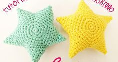 Ideas that improve your life Ideas que mejoran tu vida Ideas that improve your life Crochet Home, Cute Crochet, Crochet Crafts, Crochet Baby, Crochet Projects, Knit Crochet, Crochet Star Patterns, Crochet Stars, Amigurumi Patterns