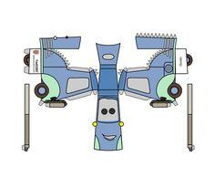 cars disney papercraft - Buscar con Google