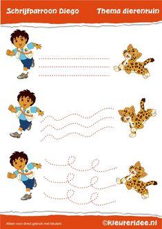 (2014-10) 3 mønstre Preschool Assessment, Printable Preschool Worksheets, Preschool Writing, Writing Activities, Activities For Kids, Summer Preschool Themes, Fall Preschool, Preschool Kindergarten, Pre Writing