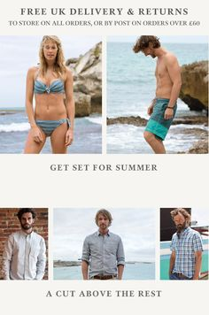 Home at Fat Face Cut Above The Rest, Fat Face, Free Uk, Bikinis, Swimwear, Places, Summer, Clothes, Shopping