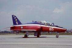BAe Hawk T1 4 FTS (74 shadow Sqdn) RAF Valley. (Training colour scheme - second evolution)