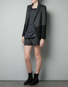 COMBINED BLAZER - Woman - New this week - ZARA United States