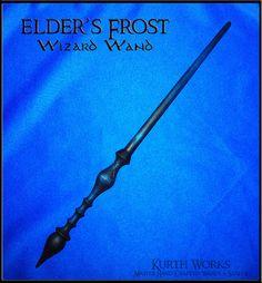 Elder's Frost Wizard Magic Wand