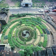 From 1975-1980 Activist Adam Purple Built a Circular Urban Garden in New York that 'Knocked Down' the Surrounding Buildings