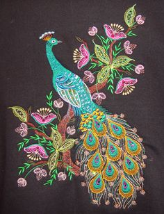 I want this tattoo'd on my back between my shoulder blades - but I want it more deep purples and royal blues with the teal.