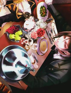 Ciel & Sebastian (by Yana Toboso) | Kuroshitsuji #anime