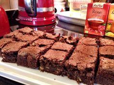 Zelfgemaakte brownies