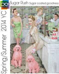 Spring Summer 2014, womens color trend report, sugar rush