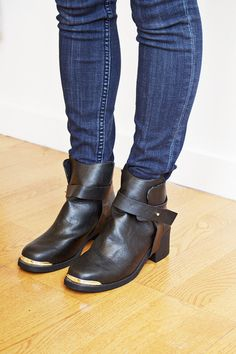 The perfect little black boot ! available at www.mooreaseal.com