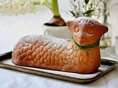 Nadýchaný velikonoční beránek z majonézy Cantaloupe, Food And Drink, Fruit, Easter, Gastronomia, Easter Activities