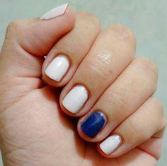 Últimamente no salgo de este tipo de diseños  #NailArt #NailPolish #MorganTaylor #Nails #AdictaALosEsmaltes