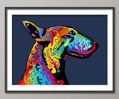 graphic bull terrier