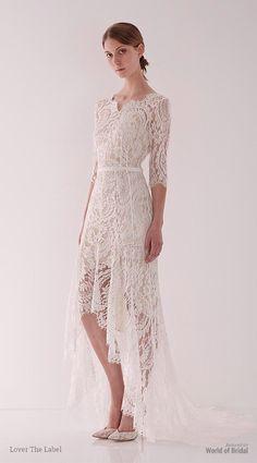 Lover The Label 2015 Wedding Dresses