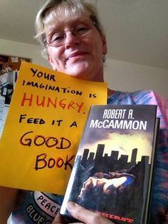 Yvonne Navarro - your imagination is hungry, feed it a good book.