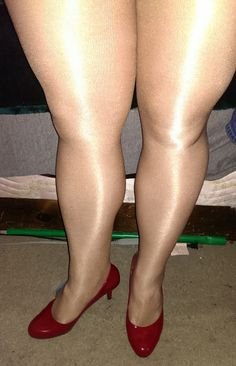 New shoes - red patent
