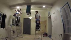 Kitchen Remodeling - Day 6 of 17 - Drywall Sanding, Taping, Mudding