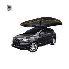 Automatic Car Shade Umbrella Automobile Protection Umbrella Car Tent Folded Portable  Sun Shade Hood With Remote