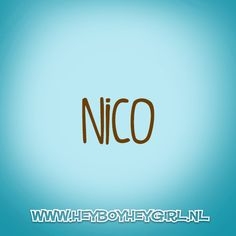 Nico (Voor meer inspiratie, en unieke geboortekaartjes kijk op www.heyboyheygirl.nl)