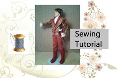 This week on ChellyWood.com, I'll be offering the patterns and tutorials for making a complete prince costume for Ken dolls.
