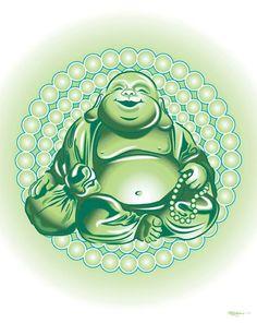 Original Artwork - Laughing Buddah