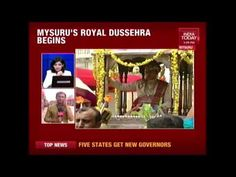 Dussera Celebrations Kickstarts In Mysuru India Today